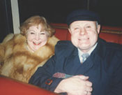 Elsa and husband Alader Sule